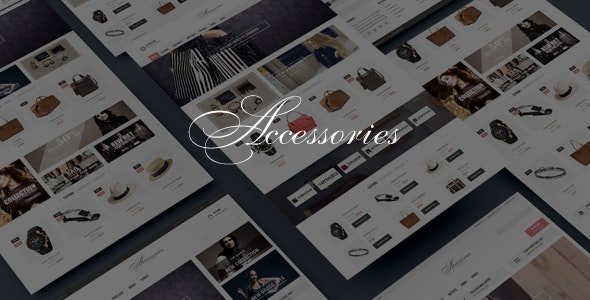 Accessories - Bootstrap HTML5 eCommerce Template - Fashion Retail
