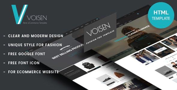 Voisen - Fashion Store HTML Template