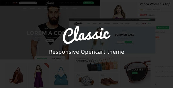 Classic - Kids & Baby Store OpenCart Theme - Shopping OpenCart