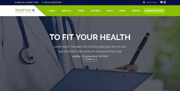 MediPoint   Responsive HTML5 Medical Template