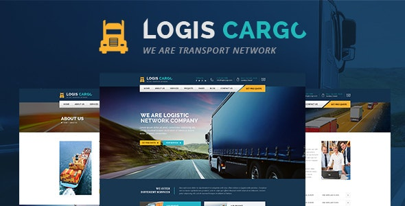 Logiscargo - Logistics and Cargo WordPress Theme - Business Corporate