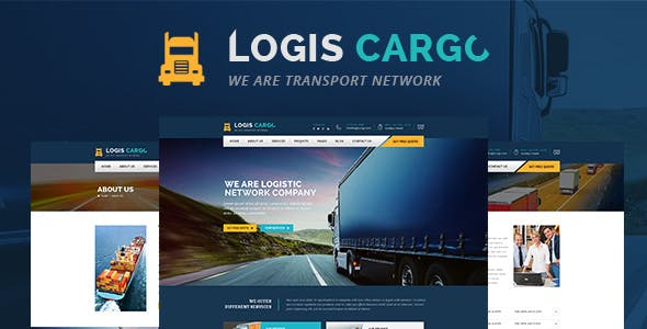 Logiscargo - Logistics and Cargo WordPress Theme