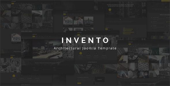 Invento | Architecture Building Agency Joomla Template - Business Corporate