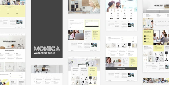 Monica - Multipurpose WordPress Theme - Business Corporate