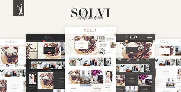Sølvi - An elegant Lifestyle WordPress Blog Theme - Personal Blog / Magazine
