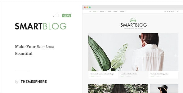 Smart Blog WordPress - Personal Blog / Magazine