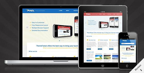 0Pixel - Responsive HTML5 Template - Portfolio Creative