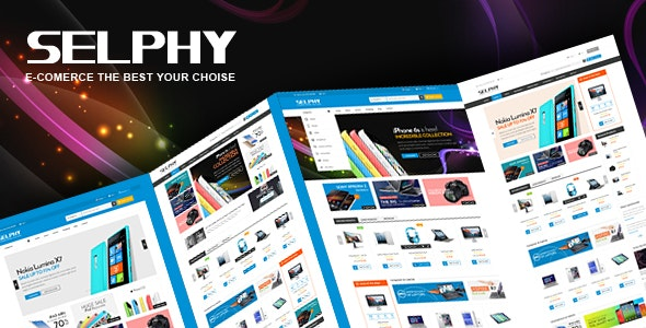Selphy - Electronics Store eCommerce HTML Template - Electronics Technology