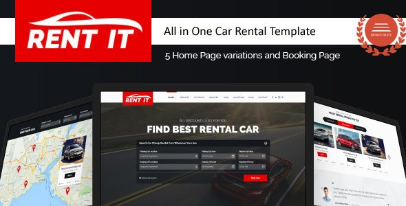 Rentit - Multipurpose Vehicle Car Rental WordPress Theme - Business Corporate