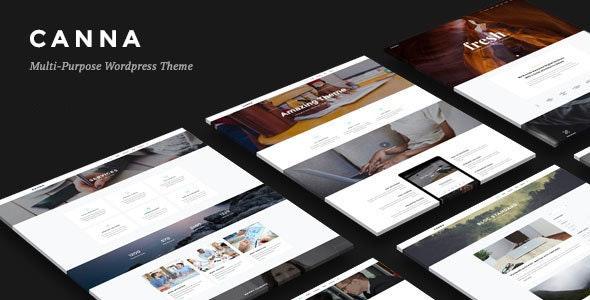 Canna - Creative Elegant WordPress Theme - Creative WordPress