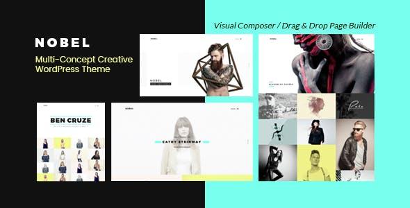 Nobel - Minimal & Versatile Multi-Concept Portfolio / Agency WordPress Theme
