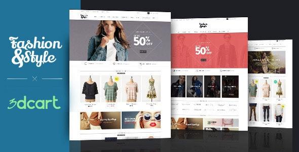 Ap Fashion 3dcart Theme - 3dcart eCommerce
