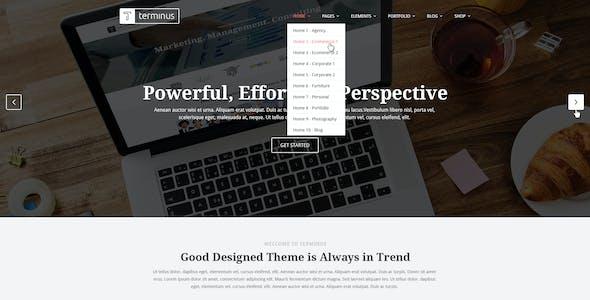 Terminus - Multi-Purpose PSD Template