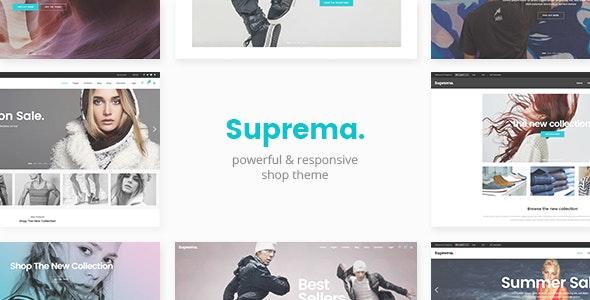 Suprema - Multipurpose eCommerce Theme - WooCommerce eCommerce