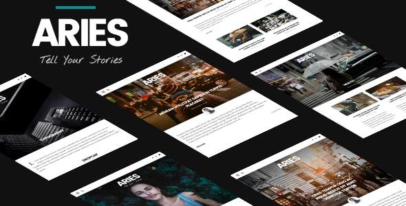 ARIES | Responsive Blog WordPress Theme - Personal Blog / Magazine