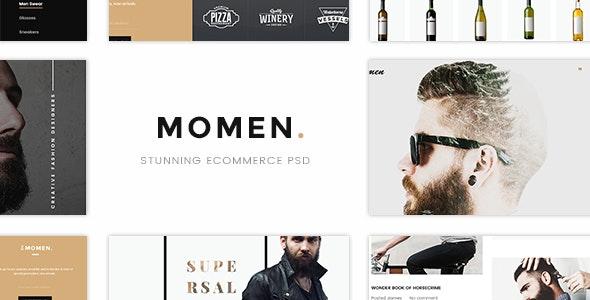 MOMEN - Stunning Ecommerce PSD Templates - Shopping Retail