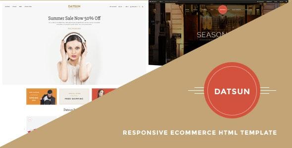 Datsun - Responsive Ecommerce Template - Fashion Retail