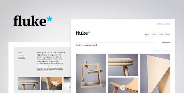 Fluke* - Responsive - Creative Portfolio Template - Creative Site Templates