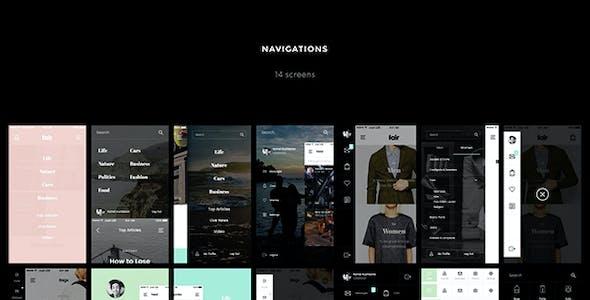 Fair UI Kit - 140+ iOS screens