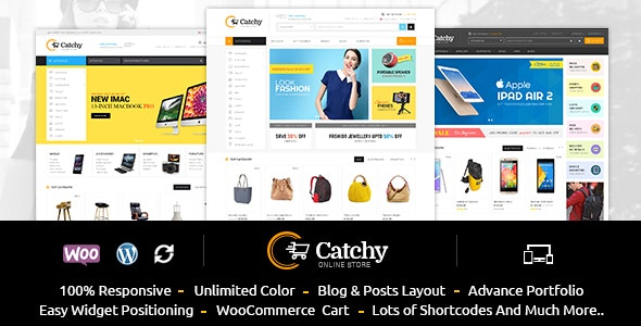 Catchy - Multipurpose WooCommerce Theme - WooCommerce eCommerce