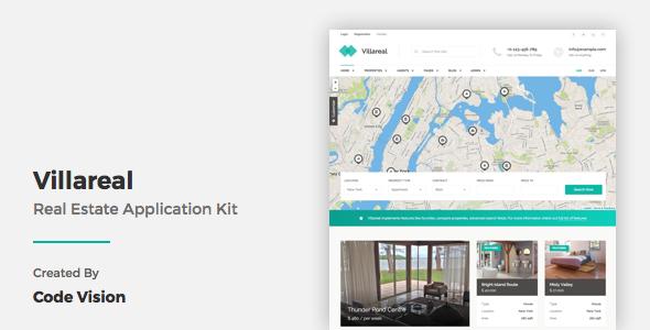 Villareal - Real Estate Application Kit - Business Corporate