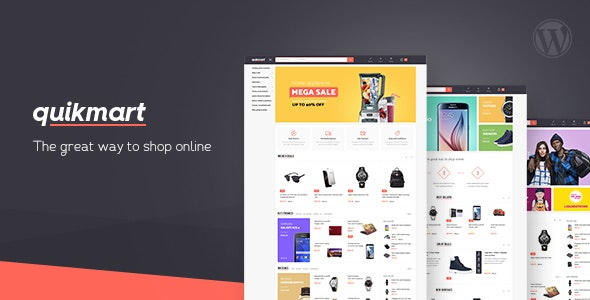 Quickmart Multi-purpose WooCommerce WordPress Theme - WooCommerce eCommerce