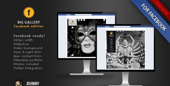 BIG Gallery Facebook Edition Photography Portfolio