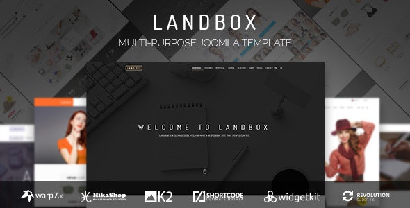 Landbox - Multipurpose Joomla Template - Business Corporate