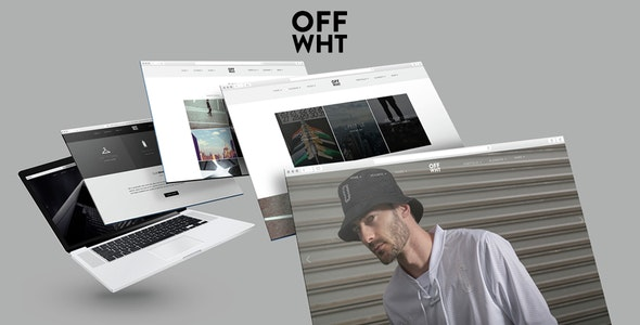 Off Wht Muse Template - Creative Muse Templates
