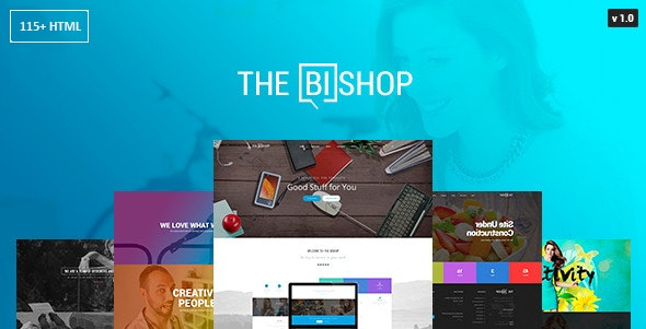 Bishop - Multi-Purpose One & Multi Page HTML Template - Business Corporate