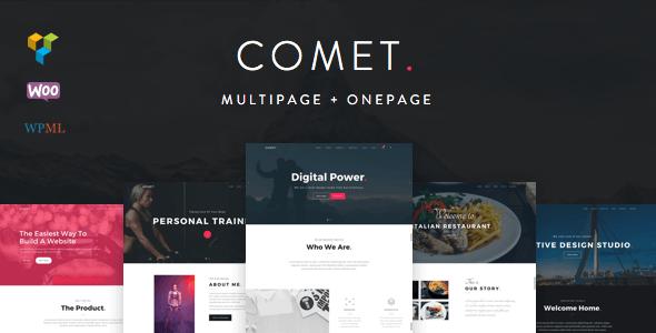 Comet - Creative Multi-Purpose WordPress Theme
