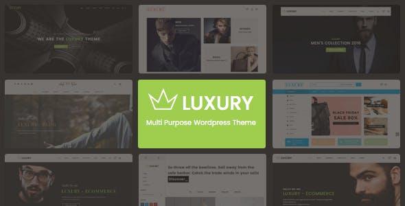 Luxury - Responsive WordPress Theme