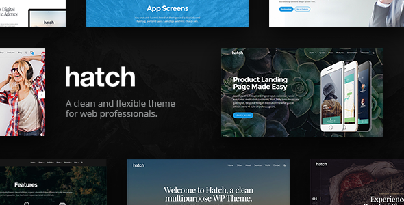 Hatch - MultiPurpose WordPress Theme - Creative WordPress