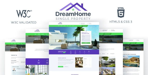 DreamHome - Single Property HTML Template - Business Corporate