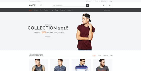 Avaz - Fashion Responsive WooCommerce Wordpress Theme