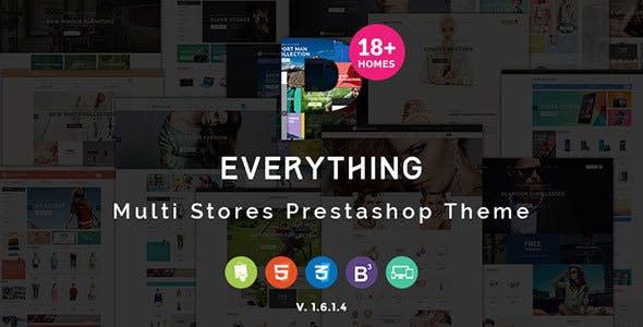Everything - Multipurpose Responsive Prestashop Theme