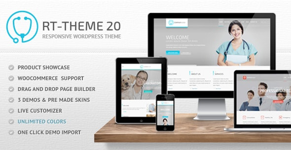 RT-Theme 20 | Medical, Health and Medical Product Catalog - Health & Beauty Retail