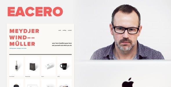Eacero — Personal Portfolio Theme