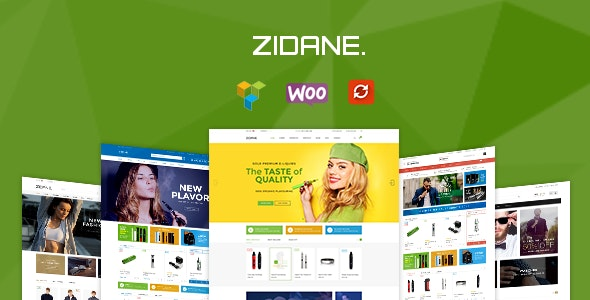 Zidane - Multi Concept Responsive Woocommerce Wordpress Theme - WooCommerce eCommerce