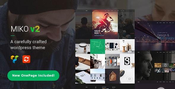 Miko Clean Business WordPress Theme - Corporate WordPress
