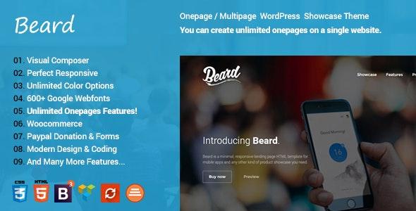 Beard | WordPress Software App Theme - Software Technology
