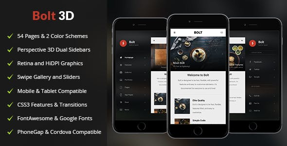 Android Template Templates from ThemeForest