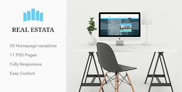 RealEstata - Property PSD Theme - Business Corporate