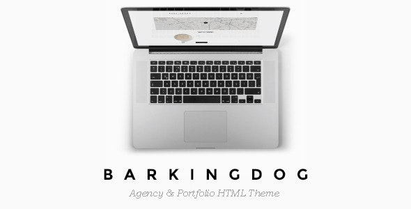 BarkingDog - Agency & Portfolio HTML Theme - Creative Site Templates