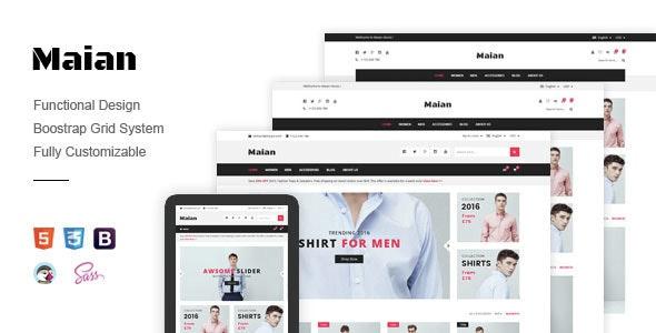 Maian - Fashion Shop Prestashop Theme - Fashion PrestaShop