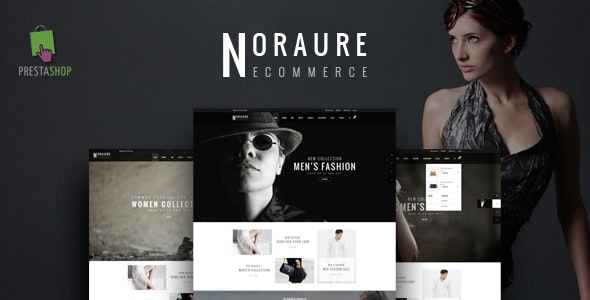 Noraure Responsive Prestashop Theme - Fashion PrestaShop