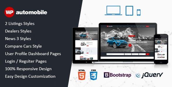 AutoMobile | Responsive Car Dealer HTML Template
