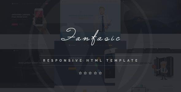 Fantasic - Multipurpose Landing Page HTML Template