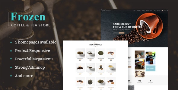 Leo Frozen Responsive Prestashop Theme - PrestaShop eCommerce