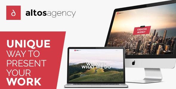 Altos - Creative Agency & Portfolio WordPress Theme - Creative WordPress